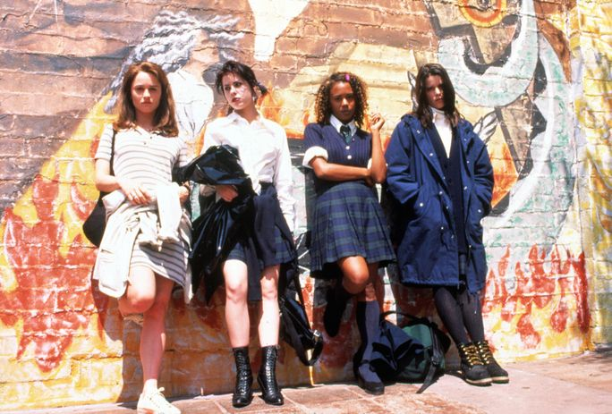ال CRAFT, Robin Tunney, Neve Campbell, Rachel True, Fairuza Balk, 1996, mural
