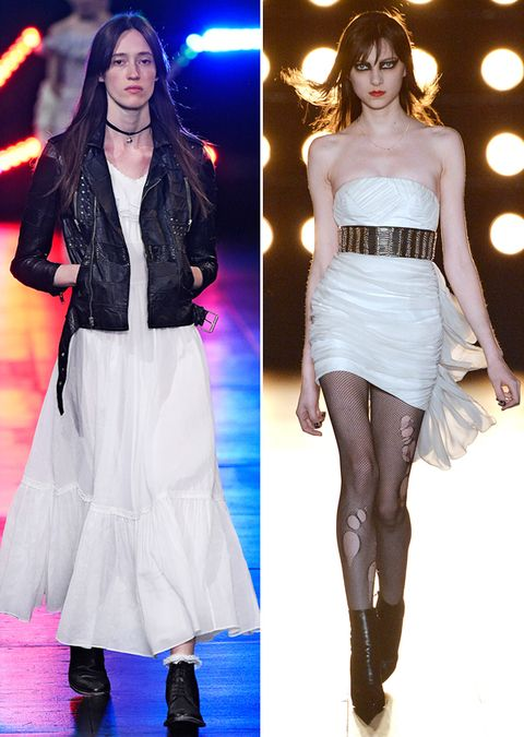 Јеннифер Aniston Wedding Dresses Saint Laurent