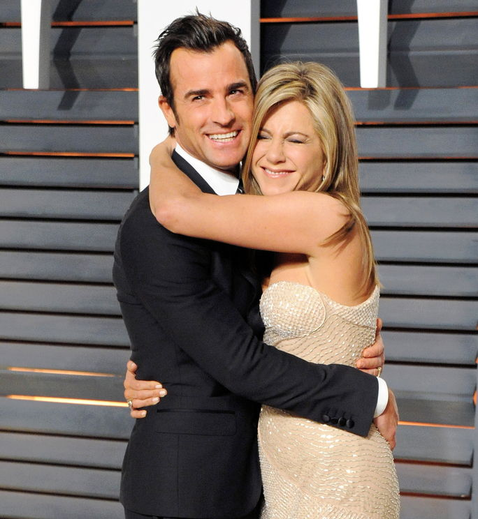 Јеннифер Aniston and Justin Theroux FEBRUARY 22 2015