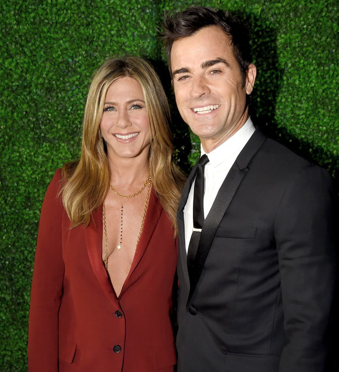 Јеннифер Aniston and Justin Theroux ANUARY 15 2015