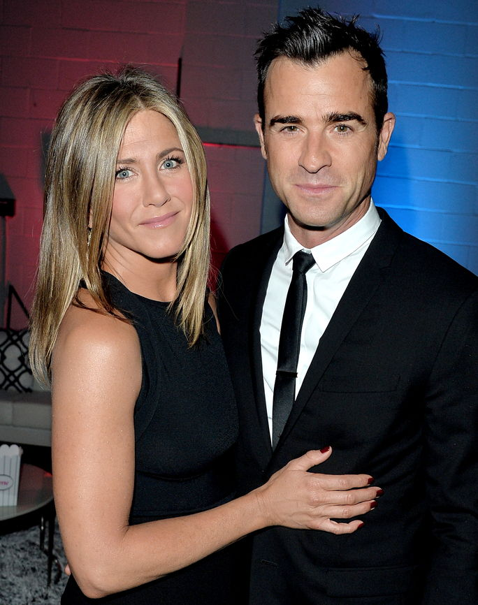 Јеннифер Aniston and Justin Theroux SEPTEMBER 8 2014
