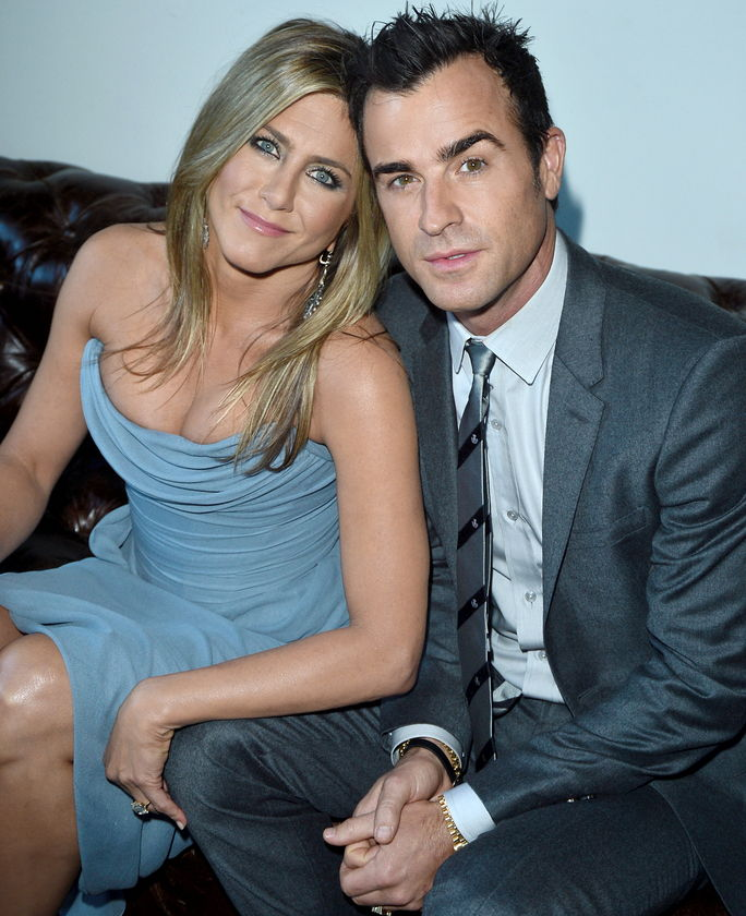 Јеннифер Aniston and Justin Theroux SEPTEMBER 14 2013