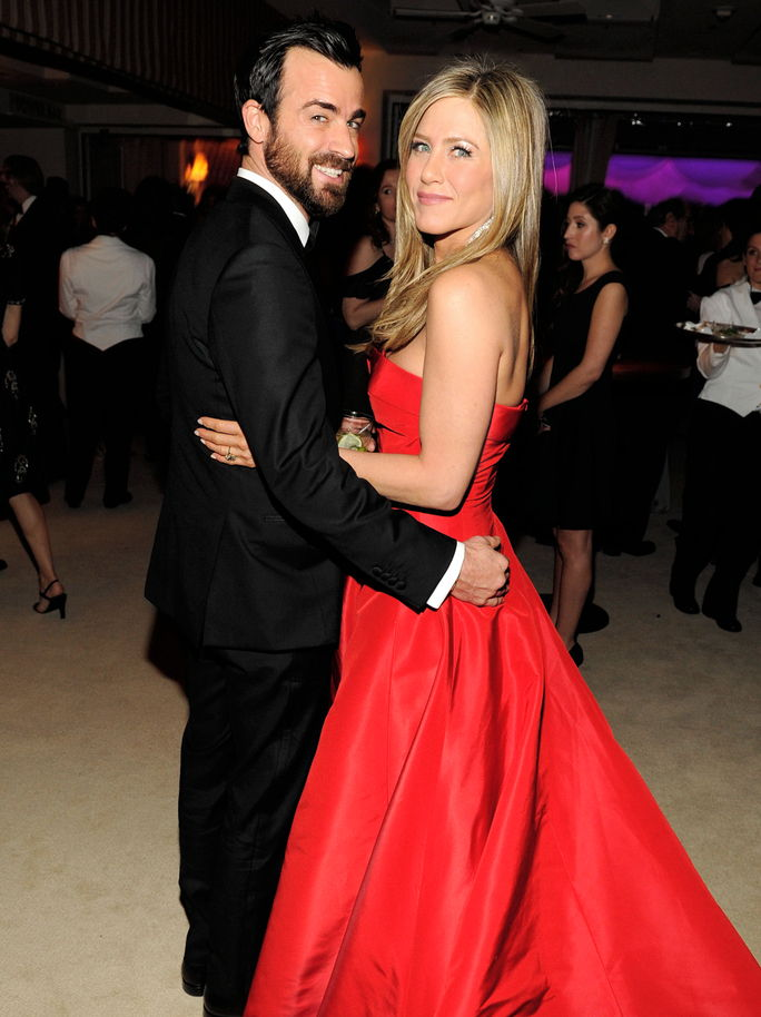 Јеннифер Aniston and Justin Theroux FEBRUARY 24 2013