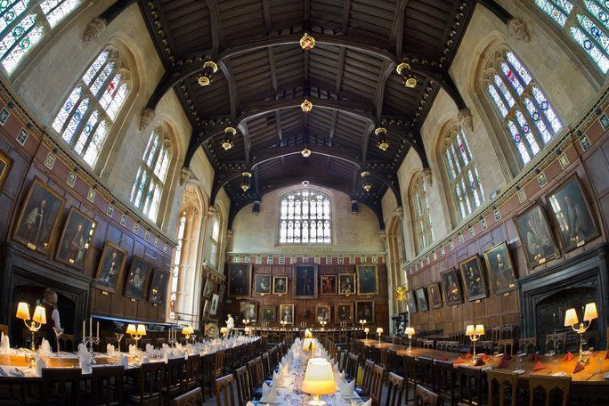 عظيم Hall in Christ Church, Oxford University