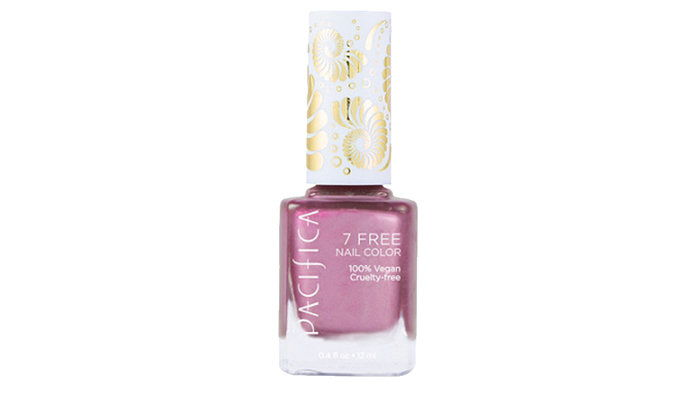 Пацифица 7 Free Nail Polish in Pink Metal