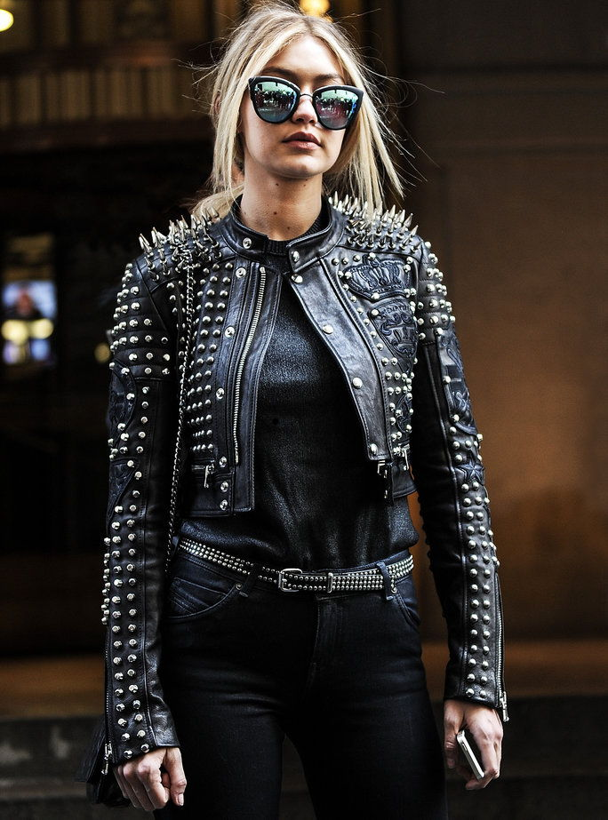 Целебс in Leather Jackets - LEAD