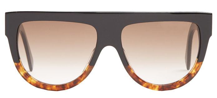 Целине Eyewear Shadow D-frame acetate glasses