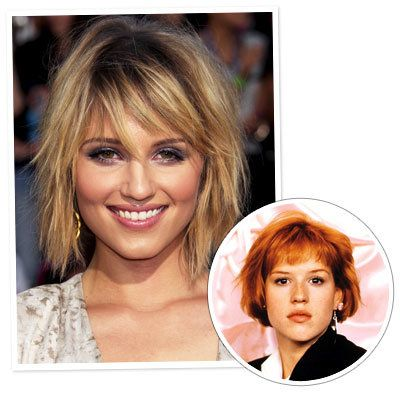ديانا Agron - Molly Ringwald - The Bob - Classic Hairstyles