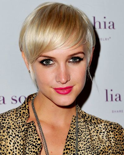 Асхлее Simpson - 8 Fall Haircuts We Know You'll Love - Perfect Pixie