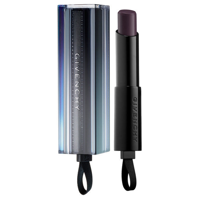 Гивенцхи Rouge Interdit Vinyl Color Enhancing Lipstick In Noir