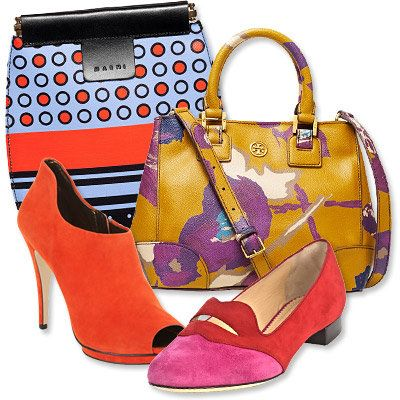 Пасти's Most Vibrant Bag and Shoe Combos