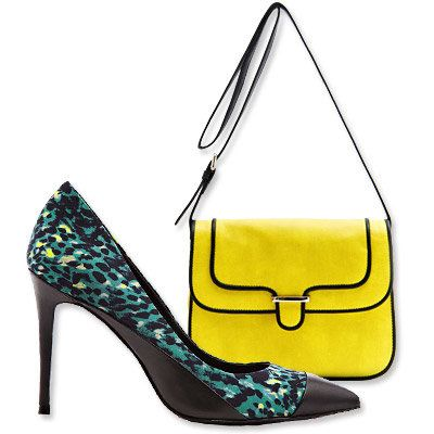 Пасти's Most Vibrant Bag and Shoe Combos - Mango - Reiss