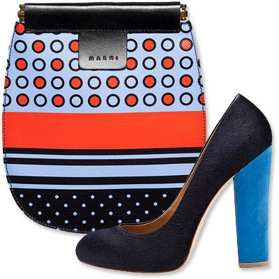 Пасти's Most Vibrant Bag and Shoe Combos - Marni - Ann Taylor