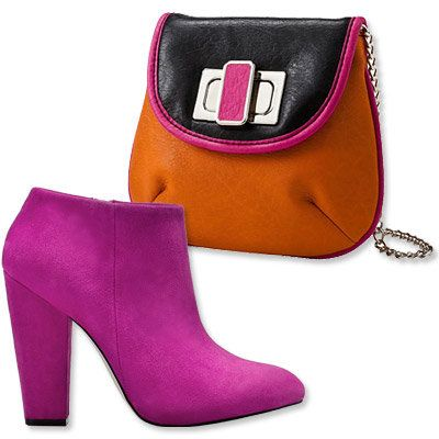 Пасти's Most Vibrant Bag and Shoe Combos - Zara - Chocolate New York