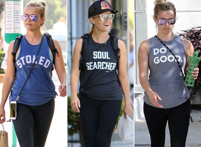 Реесе Witherspoon Workout Tanks - LEAD