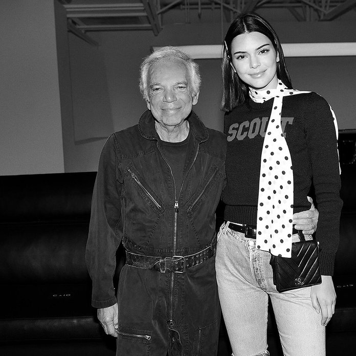 Кендалл Jenner and Ralph Lauren LEAD