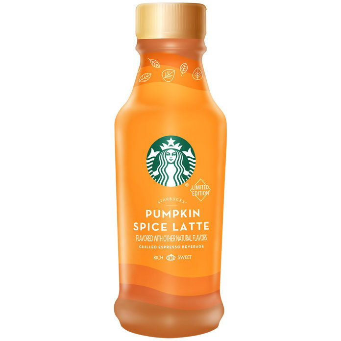 ستاربكس Bottled Pumpkin Spice Latte