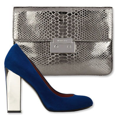 Пасти's Most Vibrant Bag and Shoe Combos - Michael Michael Kors- Sigerson Morrison