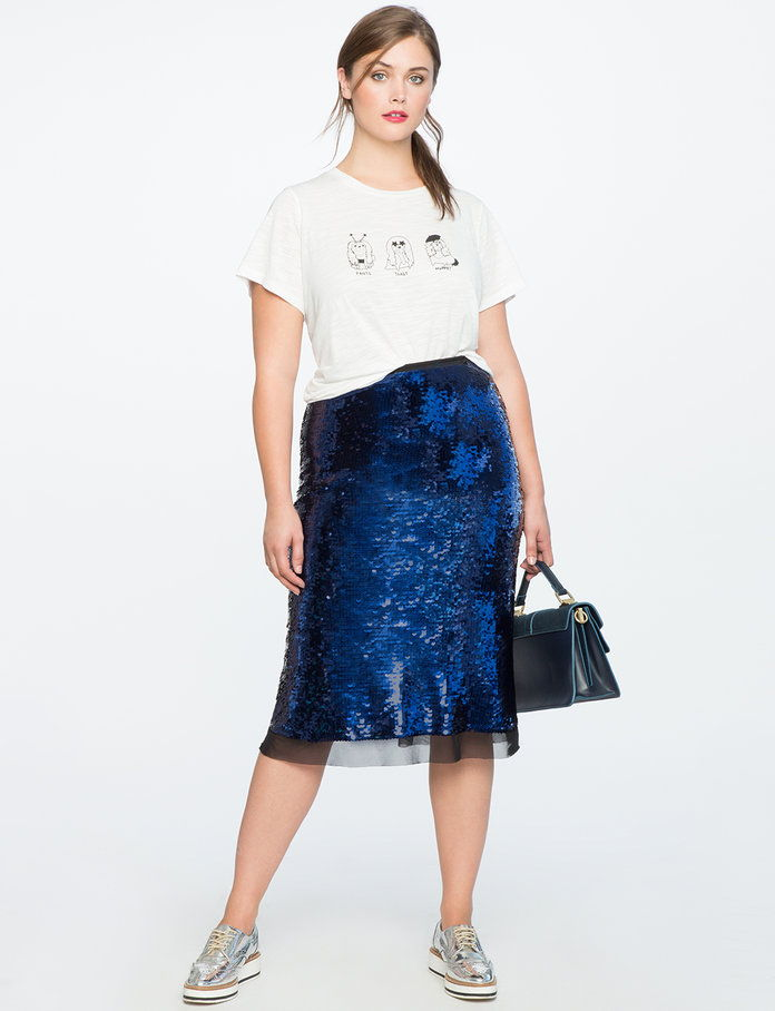 Тхе Sequined Skirt