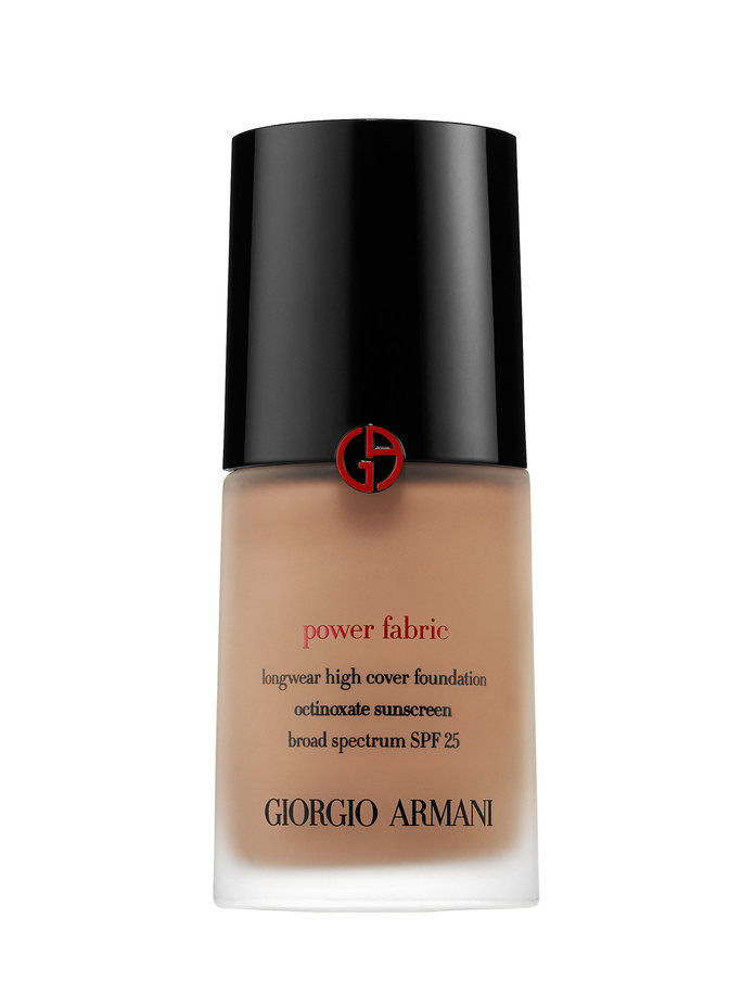جورجيو Armani Beauty Power Fabric Longwear High Cover Foundation SPF 25
