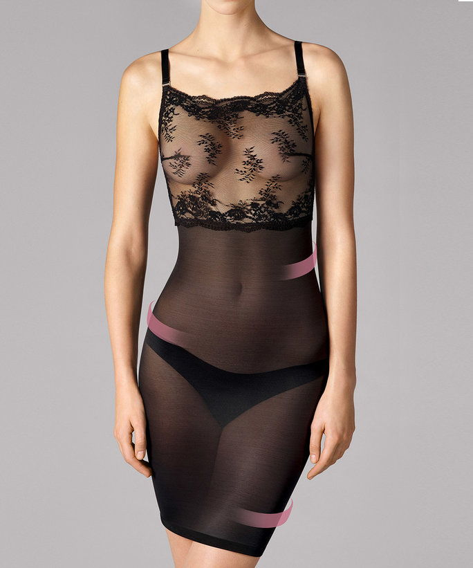 Filigra Lace Forming Dress by Wolford