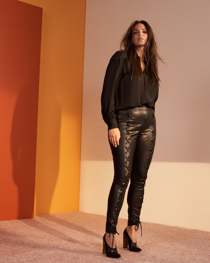 Тхе Faux Leather Pants You've Been Waiting For