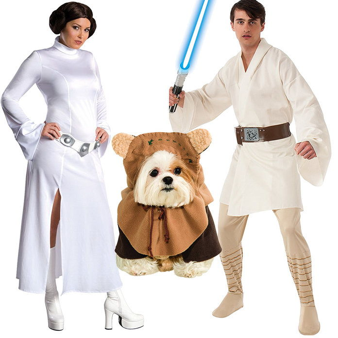 أميرة Leia, Luke Skywalker, and Chewbacca