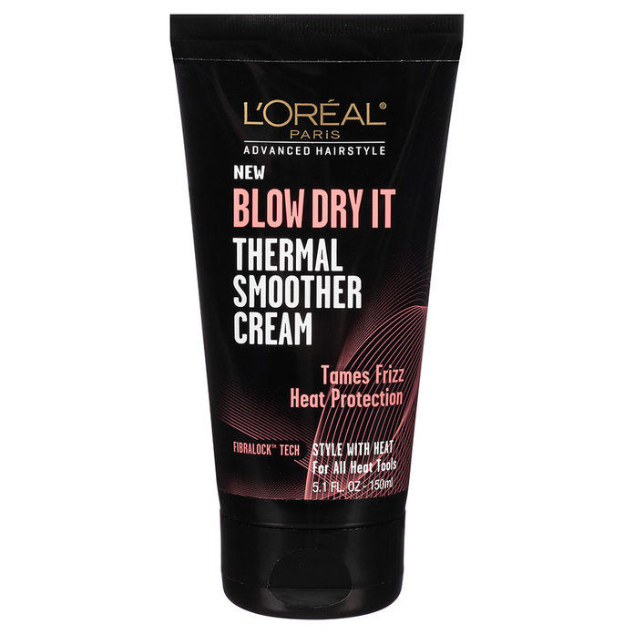 Л'Oreal Paris Advanced Haircare Blow Dry It Thermal Smoother Cream
