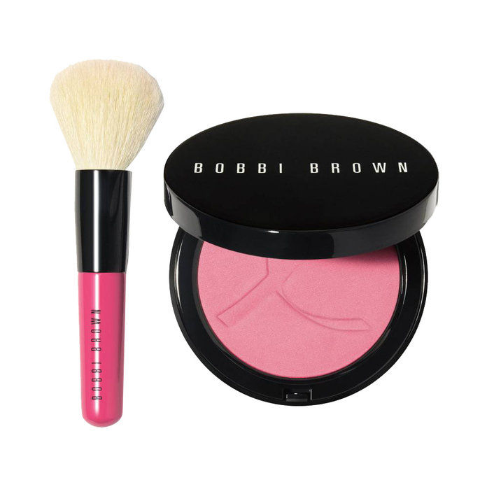 Бобби Brown Pink Peony Illuminating Powder Set