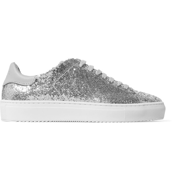 Чист 90 glittered leather sneakers