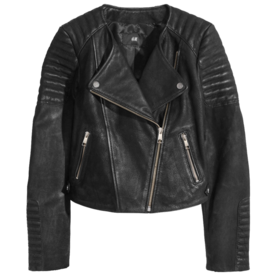 H & M leather jacket