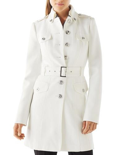 أبيض House Black Market white trench