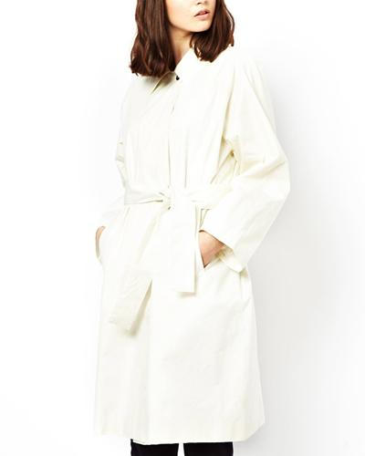 Bolzoni & Walsh white trench