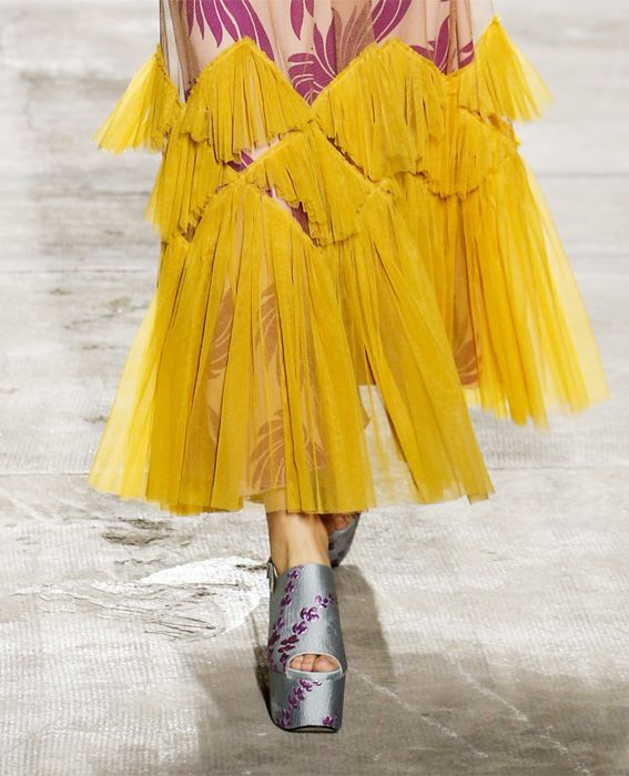 باريس Fashion Week - Dries Van Noten - Runway