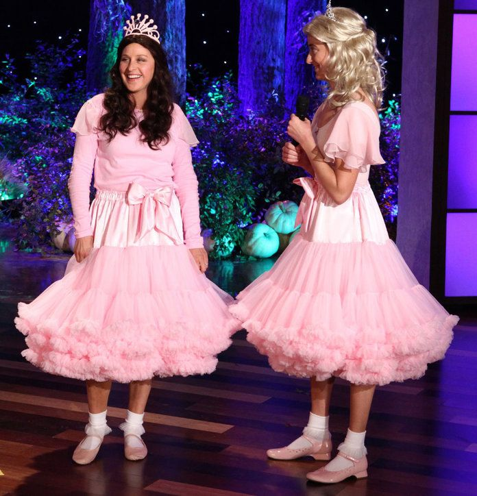 Еллен as Sophia Grace and Rosie, 2011