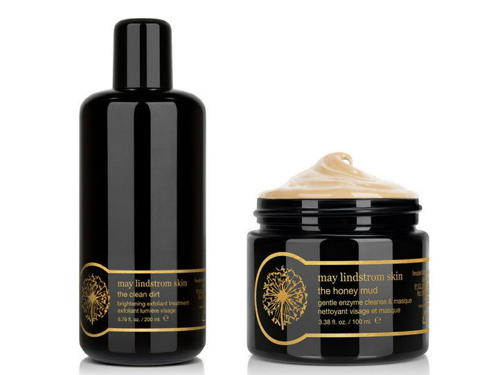قد Lindstrom The Honey Mud Mask and The Clean Dirt