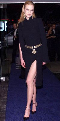 Ницоле Kidman in Jean Paul Gaultier, 2001