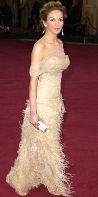 Диане Lane in Oscar De La Renta, 2003