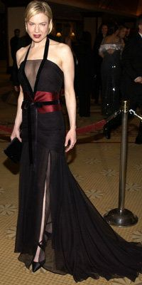 Ренее Zellweger in Carolina Herrera, 2003