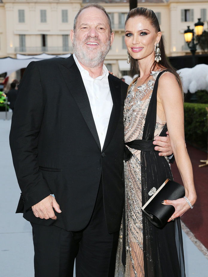 هارفي Weinstein and Georgina Chapman - Lead