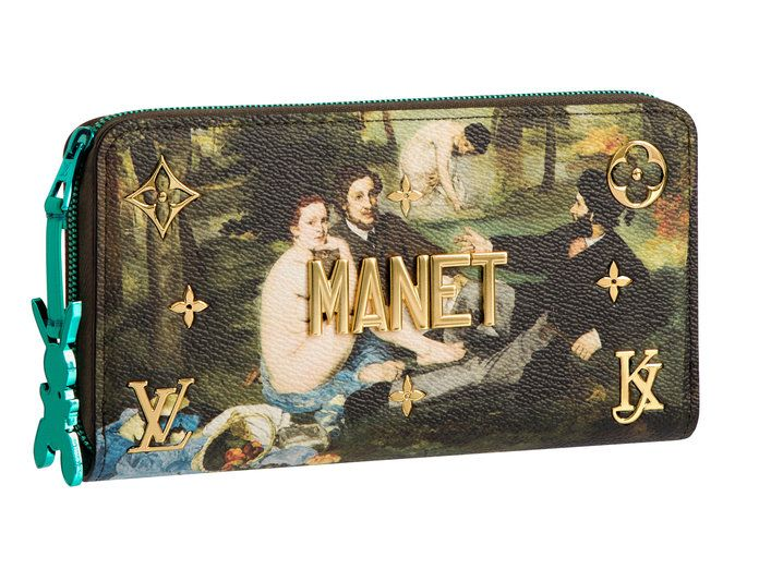 فويتون Bag - Embed - Manet