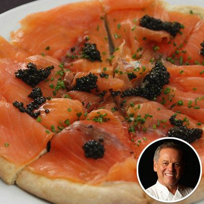 Волфганг Puck - Pizza with Smoked Salmon - Holiday recipes