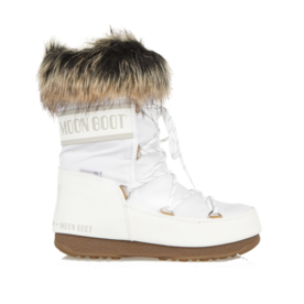 القمر Boot Faux fur-trimmed snow boots