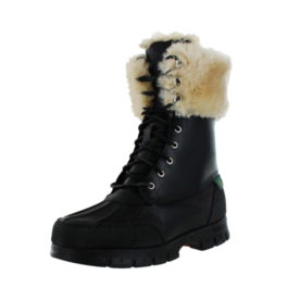 رالف Lauren Shearling lined snow boots