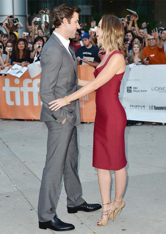 يوحنا Krasinski and Emily Blunt cutest couple moments