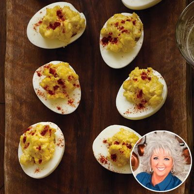Паула Deen - Deviled Eggs - Party Recipes
