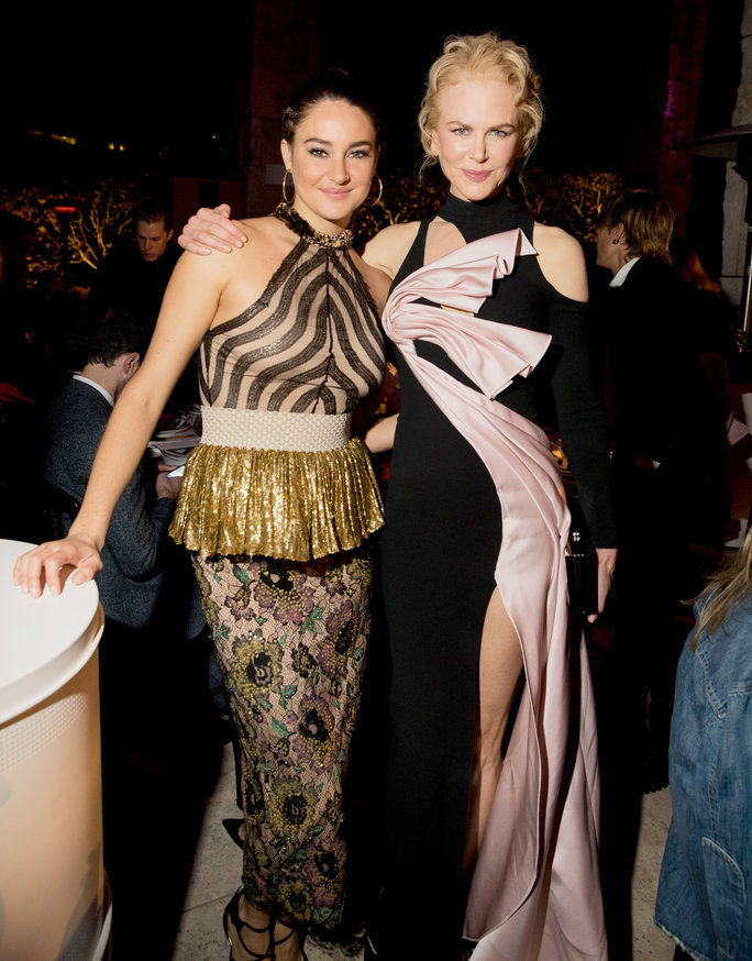 Ницоле Kidman and Shailene Woodley at the InStyle Awards - Lead