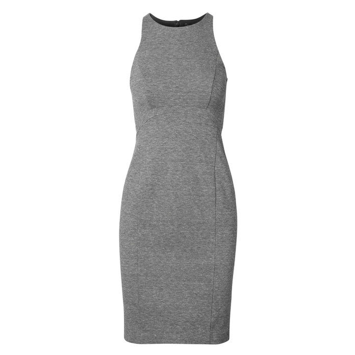 Банана Republic Seamed Racer Ponte Sheath Dress