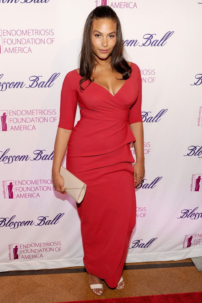 6. Marquita Pring's Red-Hot Dress