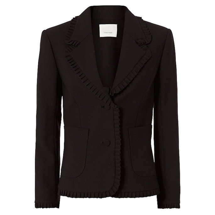 Цинк à Sept Ruffled Blazer